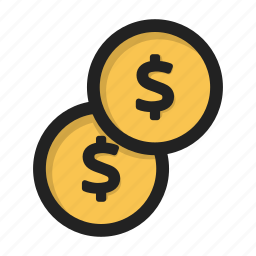 cash, coin, dollar, finance, financial, money icon