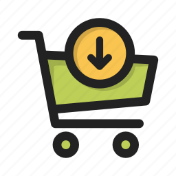 add, business, cart, contents, finance, money, shop icon