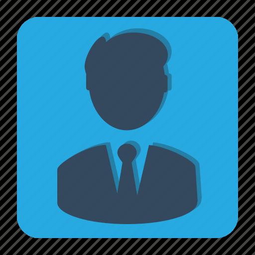 avatar, bussines, male, man, person, profile icon