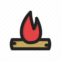 fire, flame, heat, hot icon