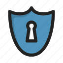 antivirus, encryption, firewall, protection, security icon