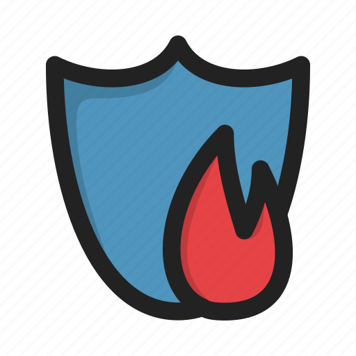 antivirus, encryption, firewall, protection, security icon