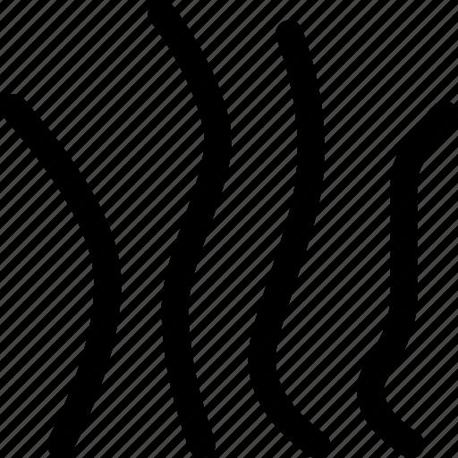 irregular, natural, pattern, weeds icon