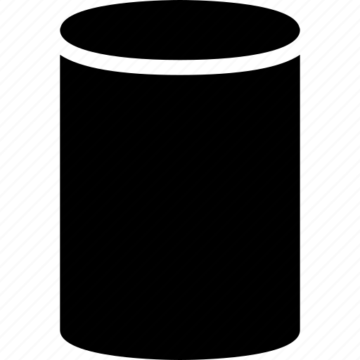 cylinder, diagram, geomentry, line, shape icon