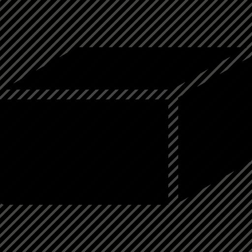 diagram, geomentry, hexaeder, line, shape icon