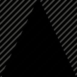 diagram, geomentry, line, shape, triangle icon