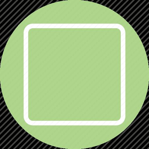square, square icon, square shape, square symbol icon