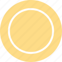 circle, circle icon, circle shape, round, round shape icon