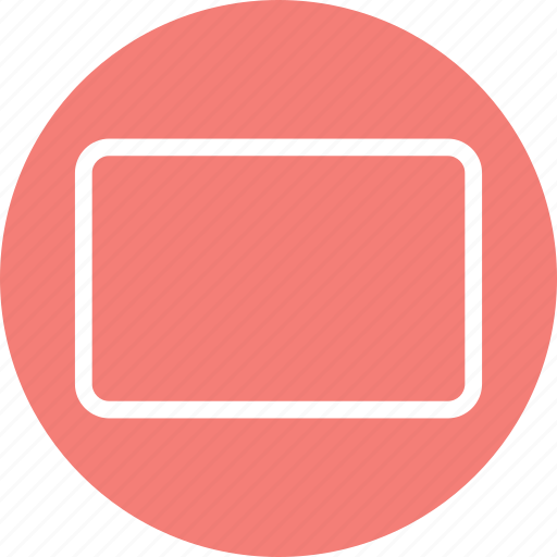 rectangle, rectangle icon, rectangle shape, rectangle symbol icon