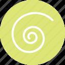 spiral, spiral icon, spiral shape, spiral symbol icon