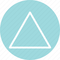 triangle, triangle icon, triangle shape, triangle symbol icon