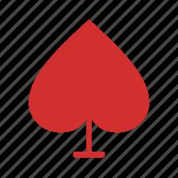 card, face, fun, game, playing, set, spade icon
