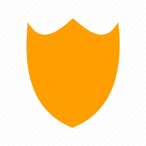 design, protection, secure, security, shape, shield, sign icon