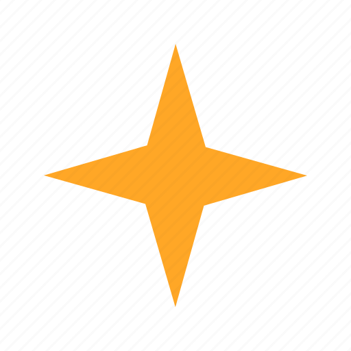 compass, geometry, graphic, shape, star icon