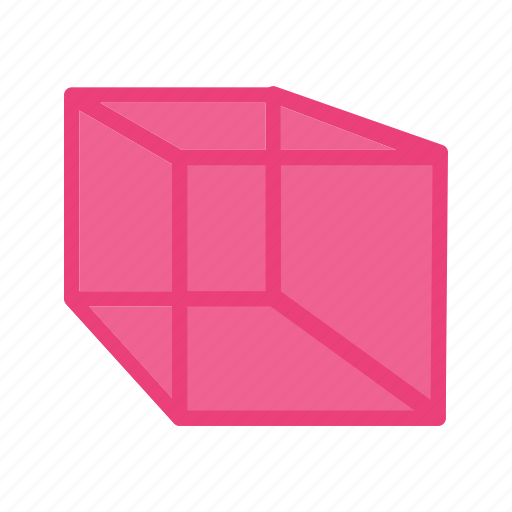cube, cubes, cylinder, geometry, mathematics, triangle icon