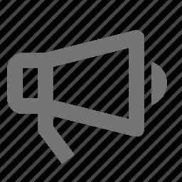 bullhorn, megaphone icon