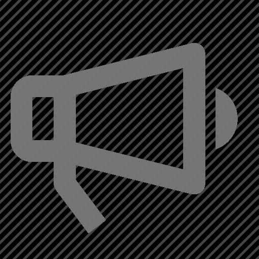 bullhorn, communication, connect, megaphone, share, speaker, transfer icon