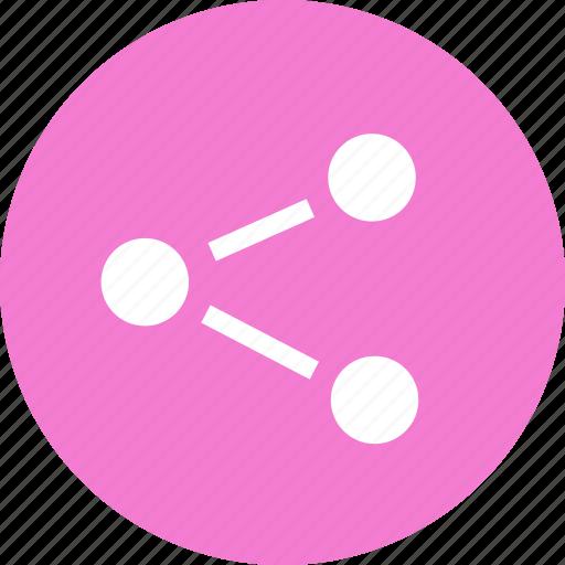 media, network, share, sharing, social, web icon
