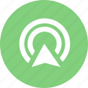 communication, connection, network, share, social, wireless signal icon