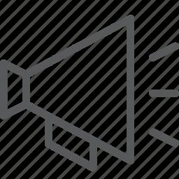 communication, connect, megaphone, share, speaker, transfer icon