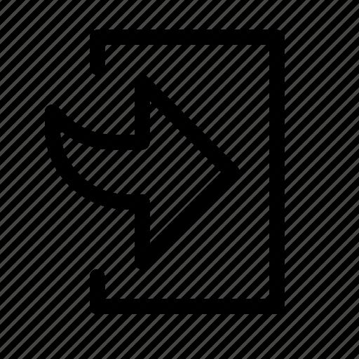 bottom, enter, right, save icon