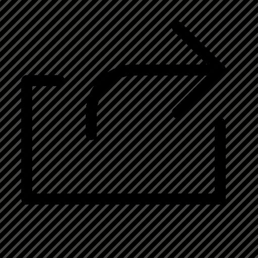 exit, transfer icon