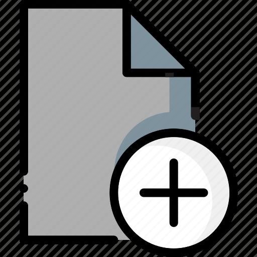 add, colour, file, files, ultra icon