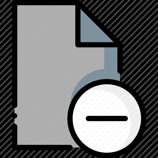 colour, file, files, remove, ultra icon