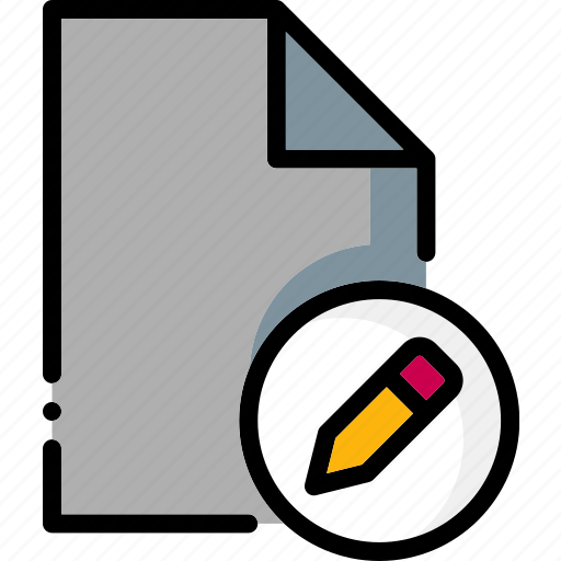 colour, edit, file, files, permissions, ultra icon
