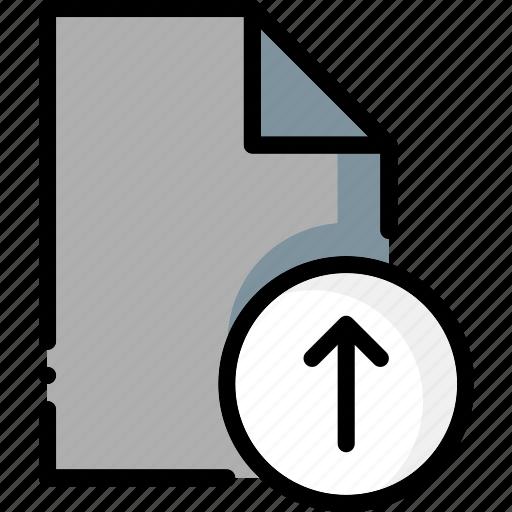 colour, file, files, ultra, upload icon