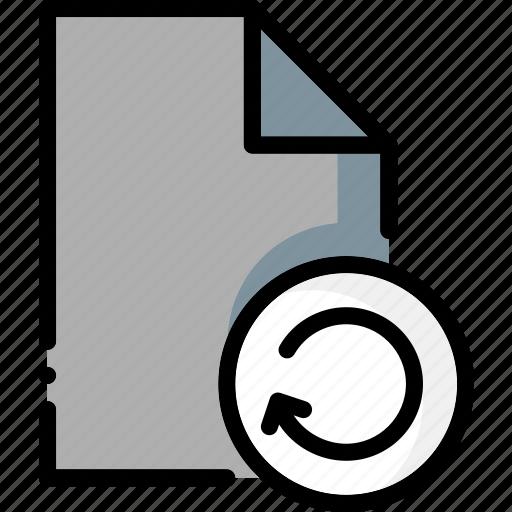colour, file, files, ultra, undo icon