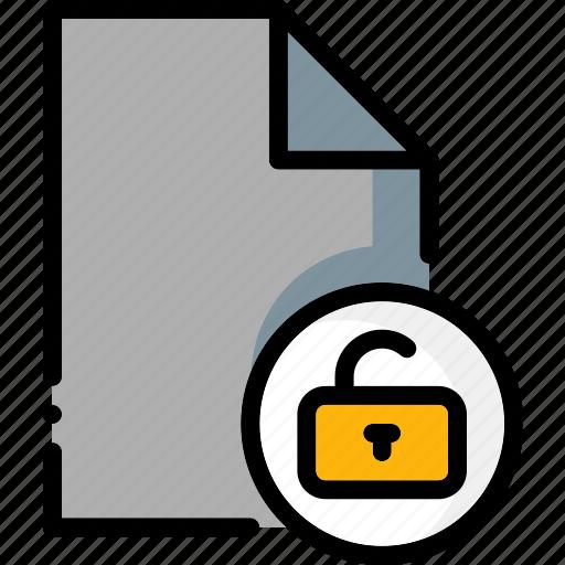 colour, file, files, ultra, unlock icon