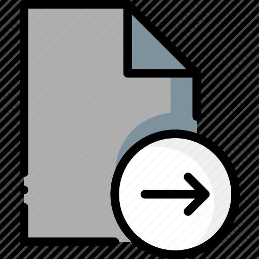 colour, file, files, next, ultra icon
