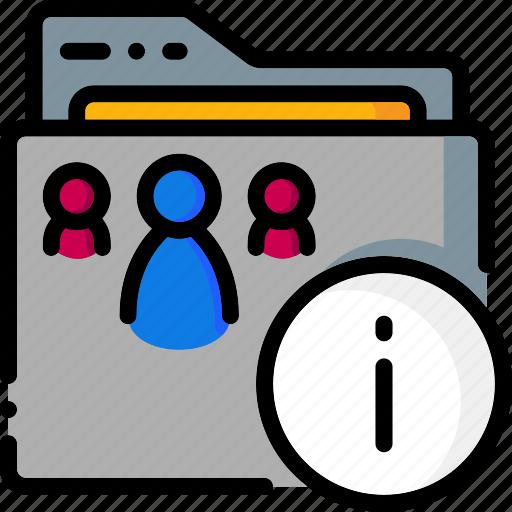 colour, folder, folders, properties, ultra icon