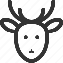 animals, beast, deer, pets, sharpicons, wild, zoo icon