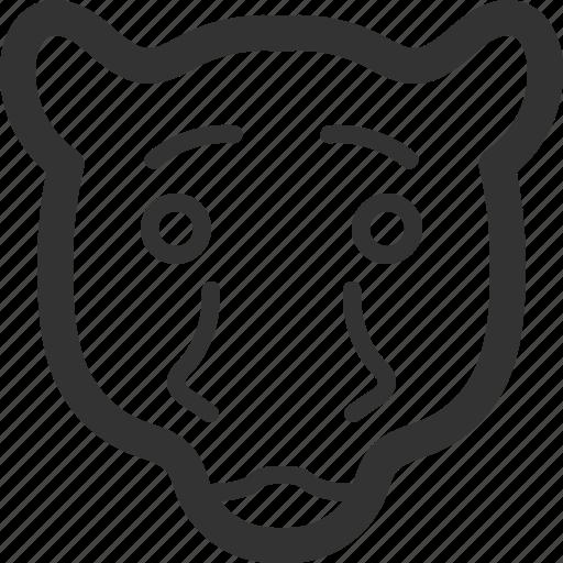 animals, beast, leopard, pets, sharpicons, wild, zoo icon