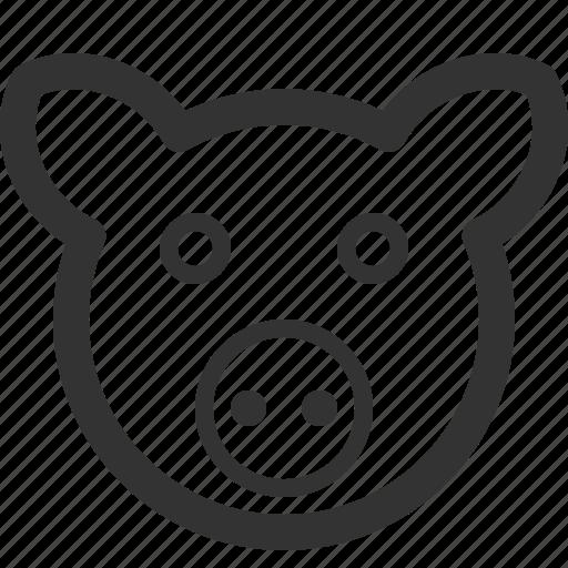 animals, beast, pets, pig, sharpicons, wild, zoo icon