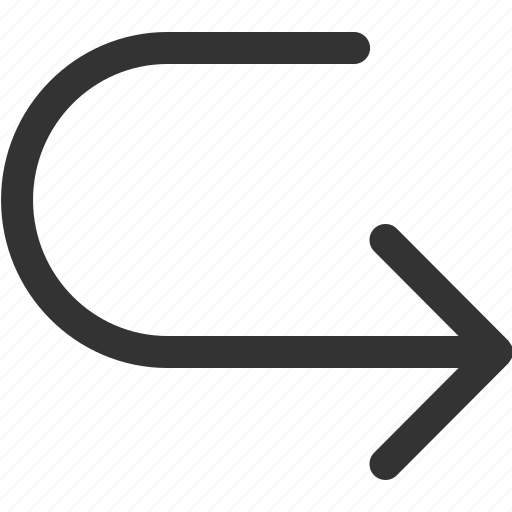 arrow, back, cursor, indicator, right, sharpicons, signs icon