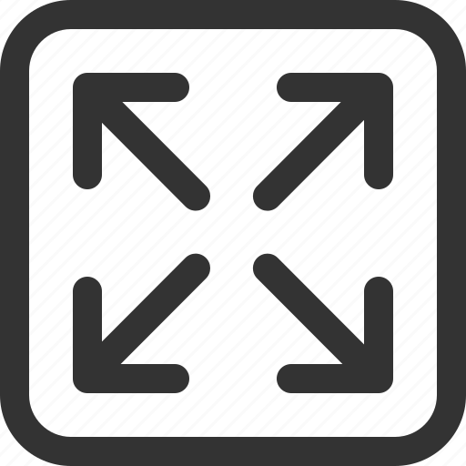 cursor, expand, full, hint, indicator, sharpicons, signs icon