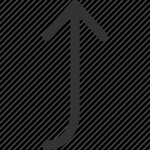 cursor, go, indicator, left, sharpicons, signs, top icon