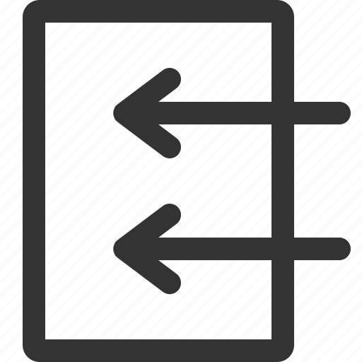 cursor, hint, indicator, inside, left, sharpicons, signs icon