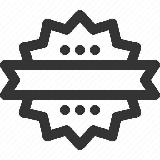 badge, badges, insignia, ribbon, sharpicons, stamps icon