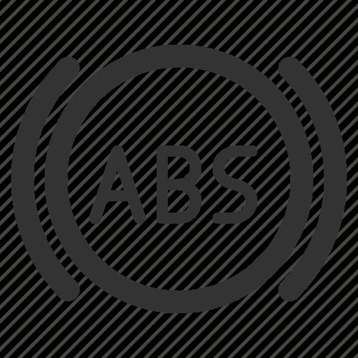 abs, car, fix, repair, service, sharpicons icon