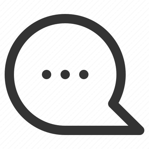 bubble, chat, conversation, mind, sharpicons, writing icon