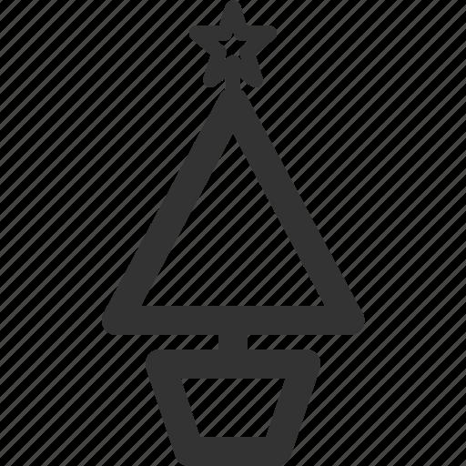 birth, christmas, holidays, sharpicons, star, tree icon