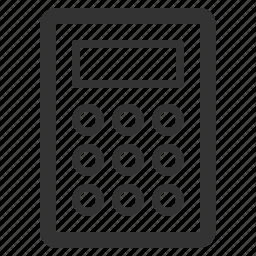 appliances, calculator, consumer, electronics, home, sharpicons icon