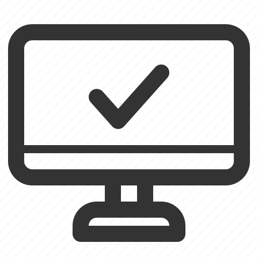 appliances, consumer, electronics, home, monitor, sharpicons icon