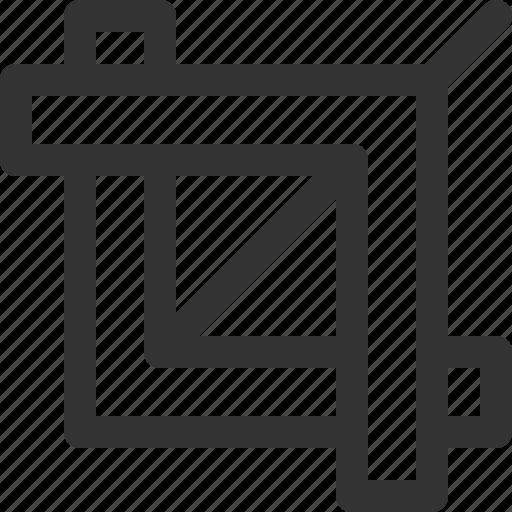 artist, crop, design, interface, print, sharpicons, studio icon