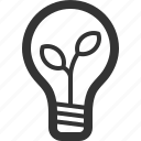 bulb, ecology, efficiency, energy, power, sharpicons icon