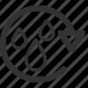 ecology, efficiency, energy, power, rain, sharpicons icon
